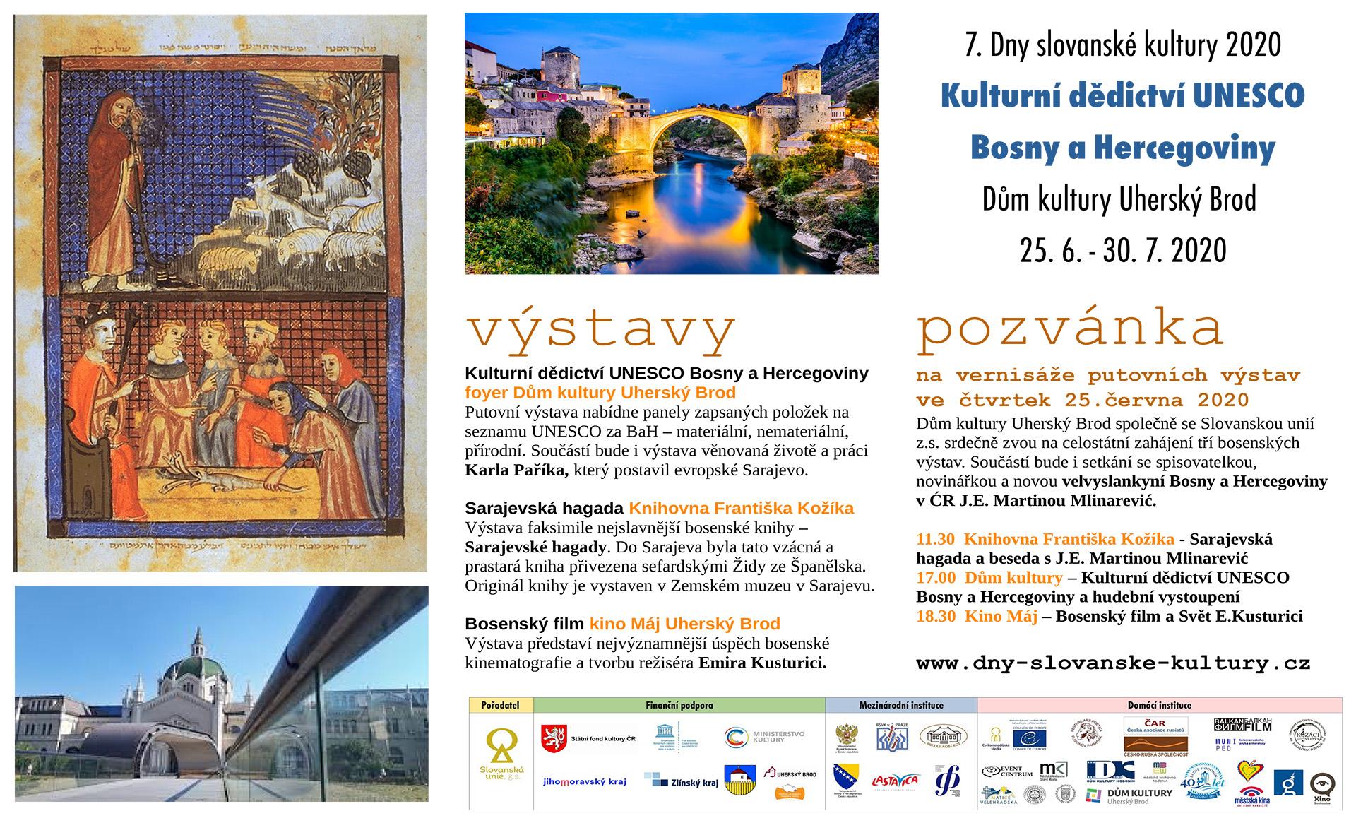 Kulturní dědictví UNESCO Bosny a Hercegoviny
